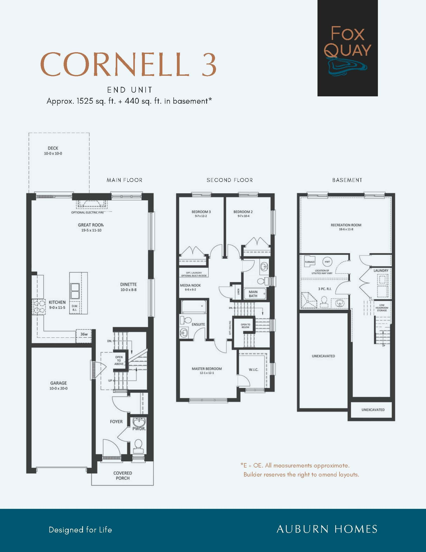 Fox Quay Townhouses For Sale London Auburn Homes Taco 111 Wiring Diagram Sold Out